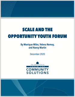 Scale and the OYF - report cover image